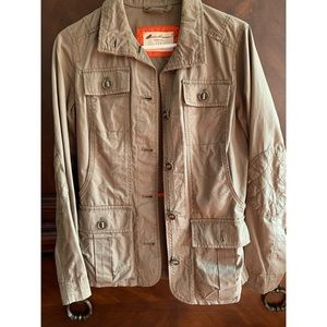 Hunter green utility jacket